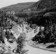 Photograph taken in  the Chama River Canyon Wilderness