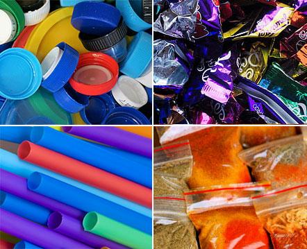 Examples of single use plastics