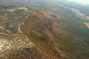 Photograph taken in  the Juniper Mesa Wilderness