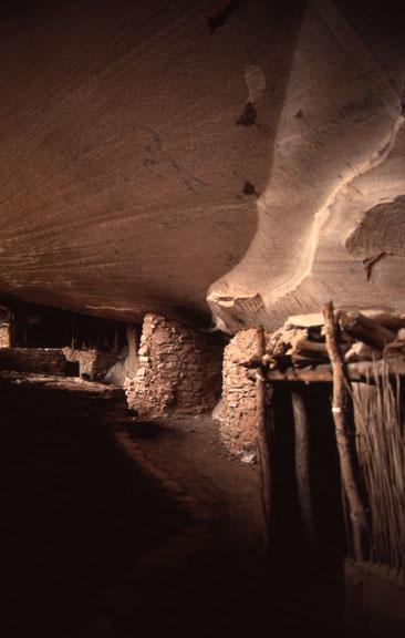 Rock art in Keet Seel, Navajo National Monument.