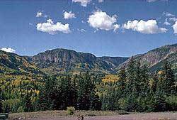 Photograph taken in  the South San Juan Wilderness