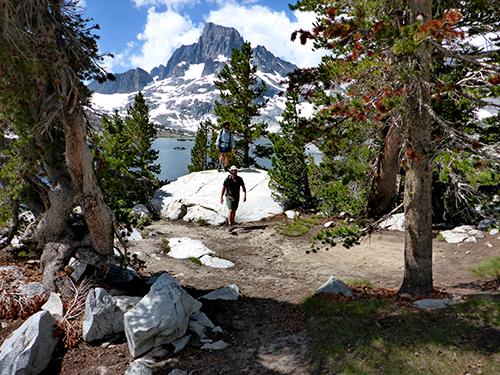 Hidden legal campsite