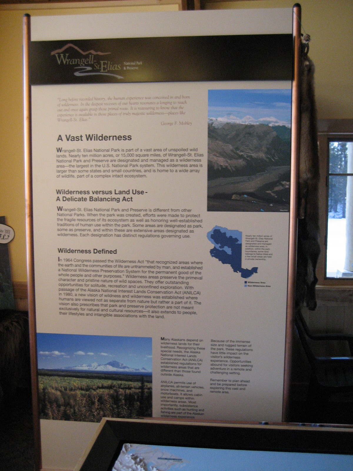 Wilderness Net Document Map